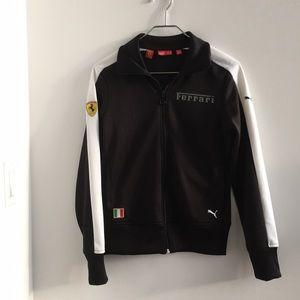 Ferrari Track Jacket. Size:S